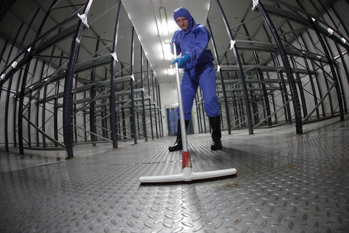 limpieza nave industrial