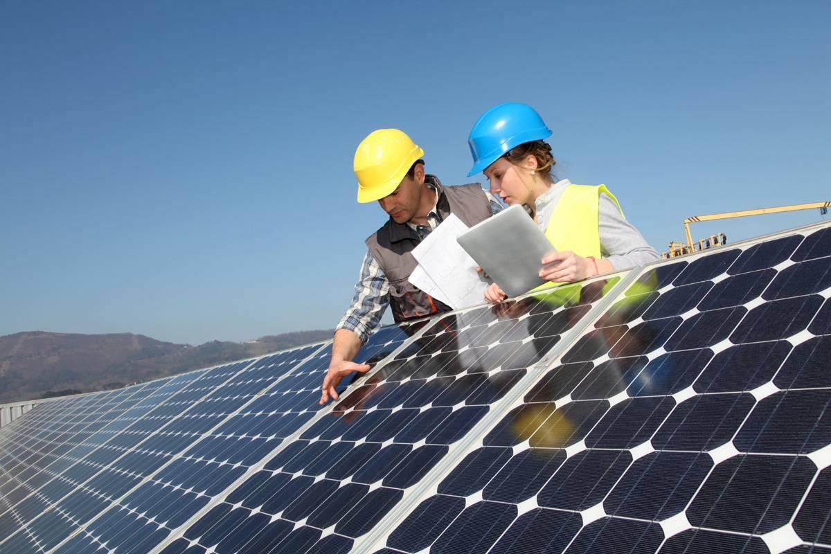 zonas ecoindustriales panel solar