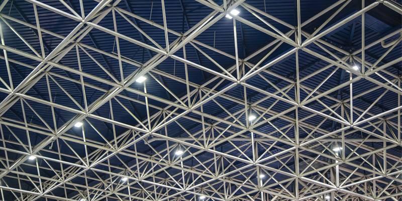 estructura metálica para techo