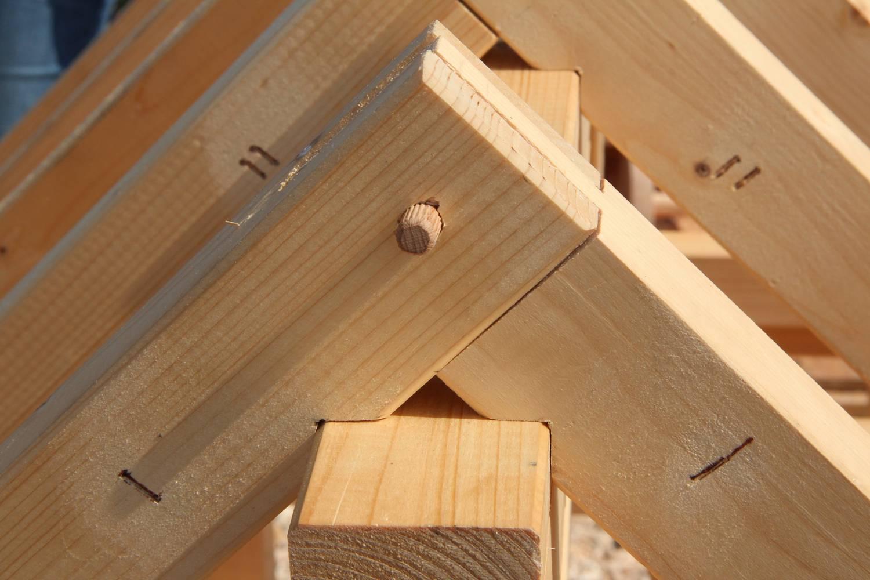 anclajes de madera