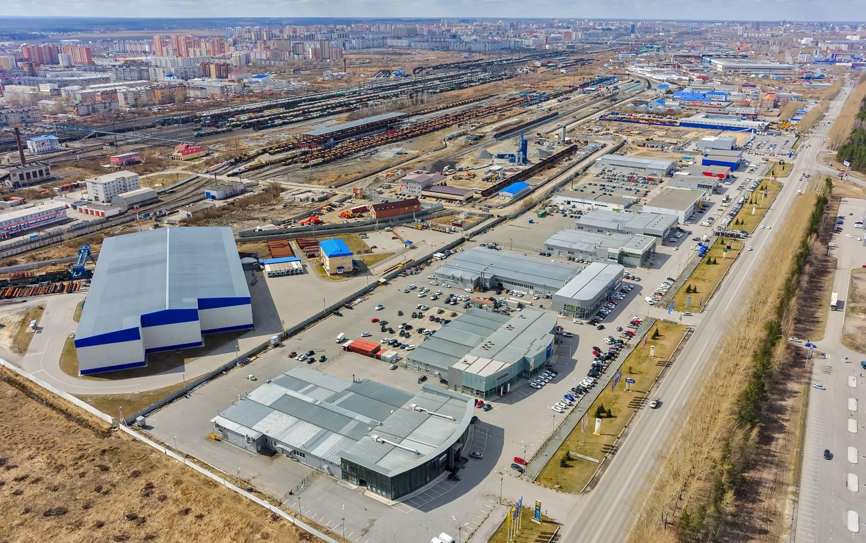 edificación de parques industriales