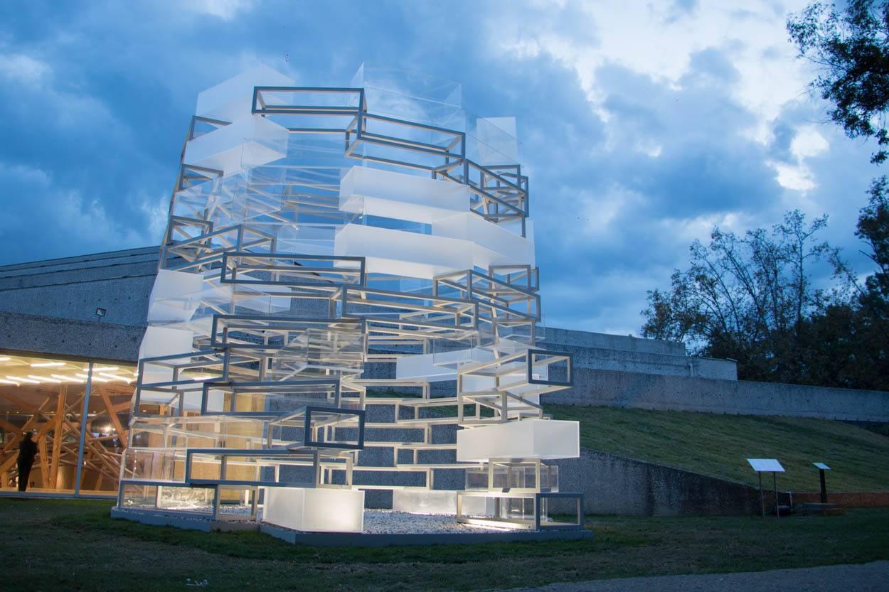 estructura desmontable arquitectura