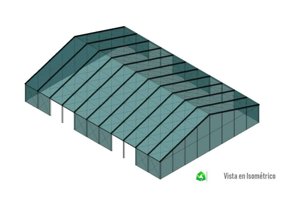 estructura de carpa grande