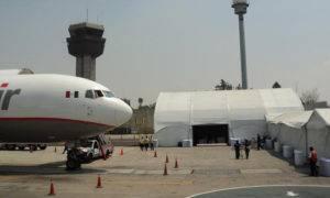almacen para aviacion, almacen gigante para avion